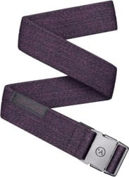 Arcade Belt Co. Ranger Slim Belt - heather wine