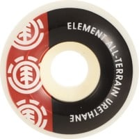 Element Section Skateboard Wheels - white (99a)