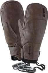 OYUKI Sencho GTX Gore-Tex Mitts - worn brown