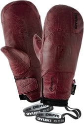 OYUKI Sencho GTX Gore-Tex Mitts - worn red