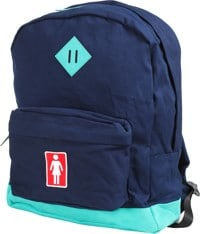 Girl Simple Backpack - navy