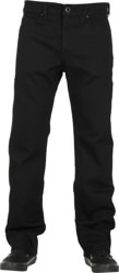 Volcom Kinkade Jeans - black on black