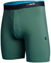 Stance Standard Combed Cotton Boxer Brief - deep green