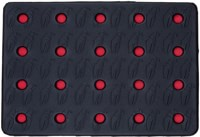 Crab Grab Holey Sheet! Stomp Pad - black/red