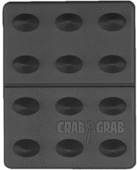 Crab Grab Mini Shark Teeth Stomp Pad - black