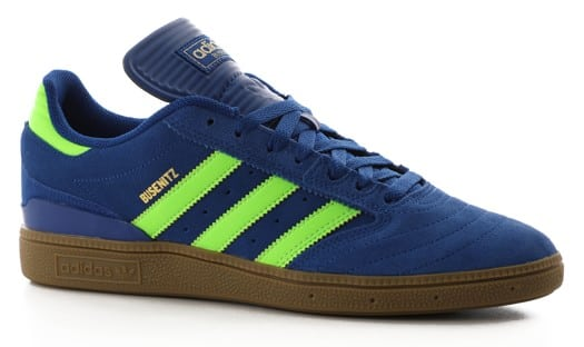 Adidas Busenitz Pro Skate Shoes - collegiate royal/solar green/gum - view large