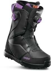 Thirtytwo Lashed Double Boa Women's Snowboard Boots 2020 - black/purple