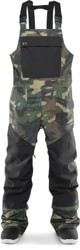 Thirtytwo Basement Bib Pants - camo