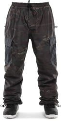 Thirtytwo Fatigue Pants - brown/camo