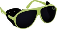 Airblaster Polarized Glacier Sunglasses - hot green