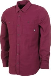 Vans Banfield III Flannel Shirt - prune