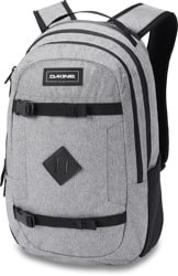 DAKINE URBN Mission 18L Backpack - greyscale