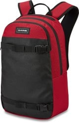 DAKINE URBN Mission 22L Backpack - crimson red