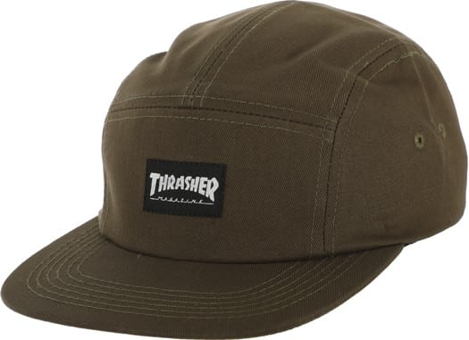 Thrasher Thrasher 5-Panel Hat - army - view large