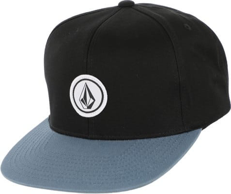 Volcom Quarter Twill Snapback Hat - blue rinse - view large