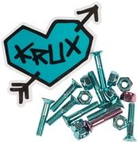 Krux Krome Phillips Skateboard Hardware - blue krome