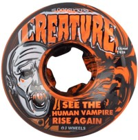 OJ Creature Bloodsuckers Skateboard Wheels - red/black swirl (97a)