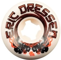 OJ Dressen Pro Elite Mini Combo Skateboard Wheels - white/red (101a)