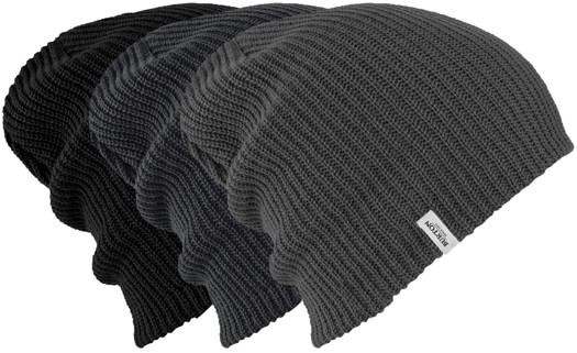 Burton DND Beanie 3-Pack - true black/phantom/dark slate - view large