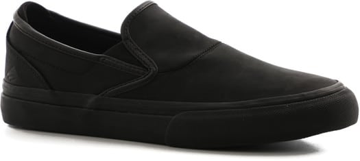 Emerica Wino G6 Slip-On Shoes - (kevin baekkel) black/black - view large
