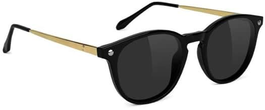 Glassy Aria Premium Polarized Sunglasses - black/gold - view large