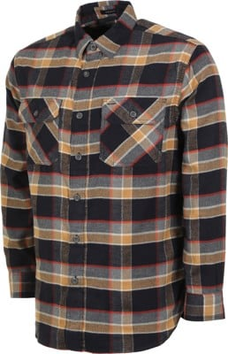 Pendleton Super Soft Burnside Flannel Shirt - black/grey/red plaid - view large