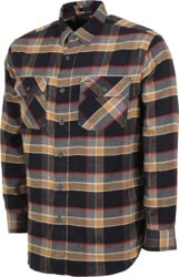 Pendleton Super Soft Burnside Flannel Shirt - black/grey/red plaid