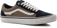 Vans Old Skool Pro Skate Shoes - (twill) dress blues/portabella