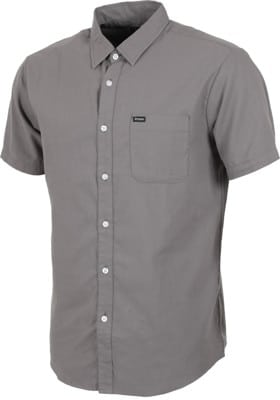 Brixton Charter Oxford S/S Shirt - charcoal - view large