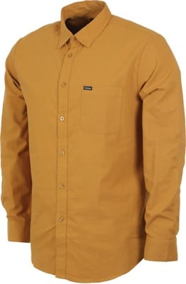 Brixton Charter Oxford L/S Shirt - maize - view large