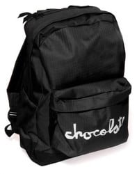 Chocolate Chunk Simple Backpack - black