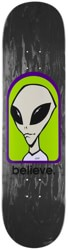 Alien Workshop Believe 8.25 Skateboard Deck - black