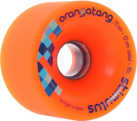 Orangatang Stimulus Freeride Longboard Wheels - view large