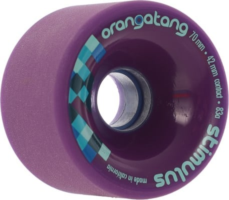 Orangatang Stimulus Freeride Longboard Wheels - purple (83a) - view large