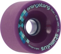 Orangatang Stimulus Freeride Longboard Wheels - purple (83a)