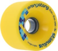 Orangatang Stimulus Freeride Longboard Wheels - yellow (86a)