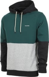 Volcom Single Stone Division Hoodie - evergreen