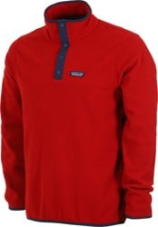 Patagonia Micro D Snap-T Pullover - molten lava