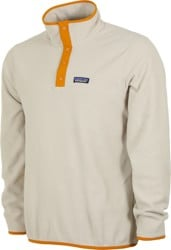Patagonia Micro D Snap-T Pullover - pelican w/ wren gold