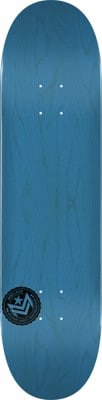 Mini Logo Chevron Stamp II 8.25 243 Shape Skateboard Deck - blue - view large
