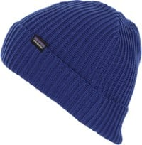 Patagonia Fisherman's Rolled Beanie - cobalt blue