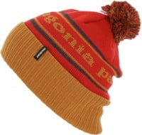 Patagonia Powder Town Beanie - park stripe: hammonds gold