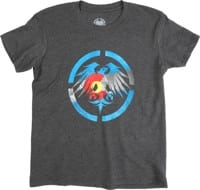 Never Summer Youth Colorado Heritage T-Shirt - charcoal