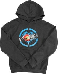 Never Summer Youth Colorado Heritage Hoodie - charcoal heather