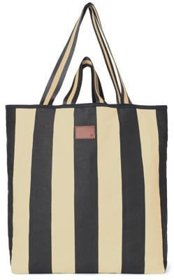 Brixton Lucinda Tote Bag - black/light khaki - view large