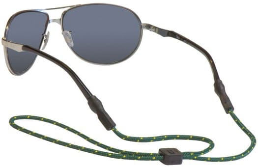 Chums Universal Fit Sunglasses Retainer - dark green earth (3mm rope) - view large
