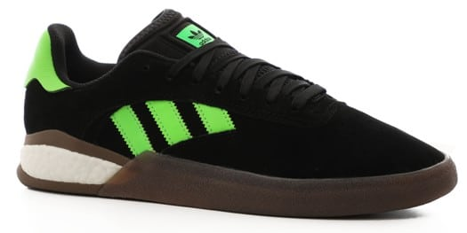 Adidas 3ST.004 Skate Shoes - core black/footwear white/gum - view large