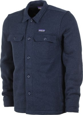 Patagonia Better Sweater Shirt Jacket - new navy - view large