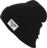 Never Summer Cuffed Beanie - black