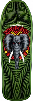 Powell Peralta Mike Vallely Elephant 10.0 Skateboard Deck - view large